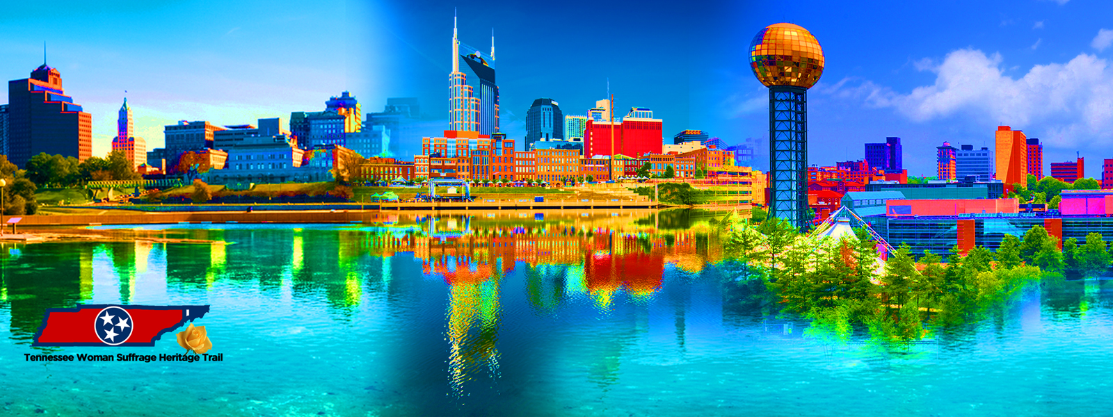 <p>City Collage &#8211; Memphis, Nashville and Knoxville</p>