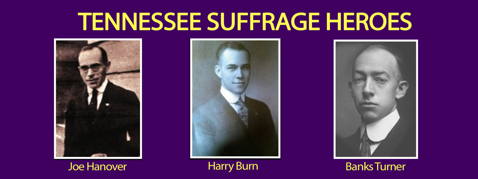 <p>Suffrage Heroes Banner Slider</p>